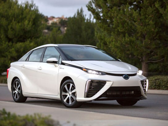 Toyota Mirai – On sale now in tiny numbers and only