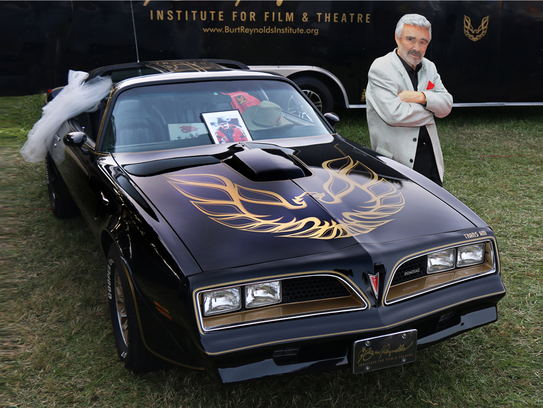 This 1977 Pontiac Firebird Trans Am was used to promote