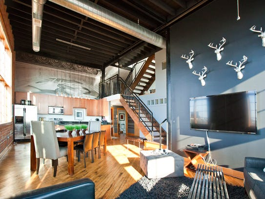 The inside of the condo that sold for $531,313