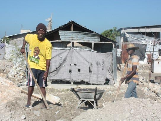 Located on the outskirts of Port-au-Prince, Haiti,