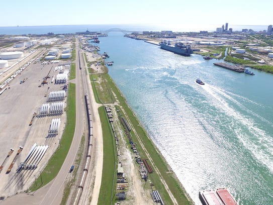 Port of Corpus Christi officials say the volume of