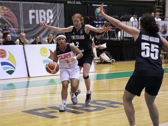 Team Guam's U17 ladies fell to a superior New Zealand