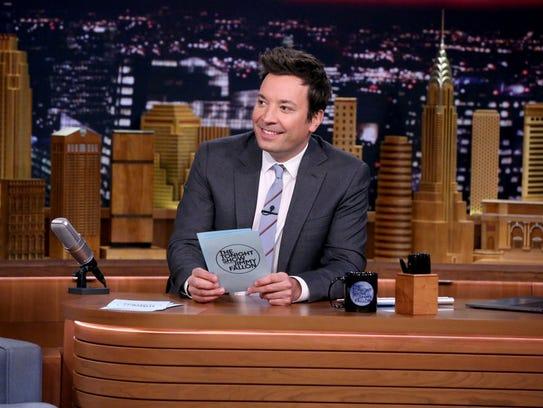 'Tonight Show' host Jimmy Fallon.