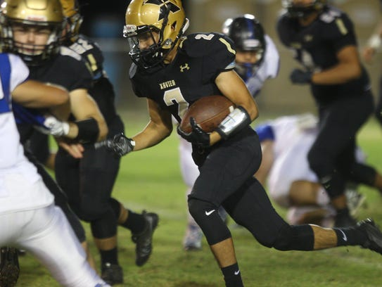 Xavier Prep hosted Cathedral City High School for their