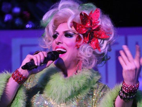 Drag performer Hedda Lettuce will bring her holiday