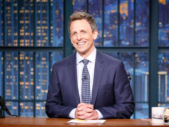 'Late Night' host Seth Meyers.