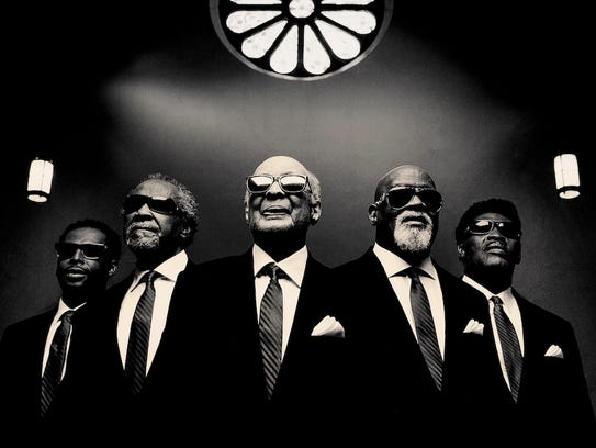 Blind Boys of Alabama is a Grammy award-winning gospel group. Catch them Sunday, Feb. 4, in Salem.