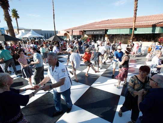 El Paseo in Palm Desert was transported back in time