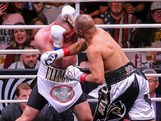 In the 75th fight of his boxing career, which spans