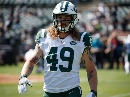 Jets linebacker Dylan Donahue says his February DWI