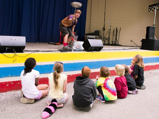 There's plenty of children's entertainment on tap at
