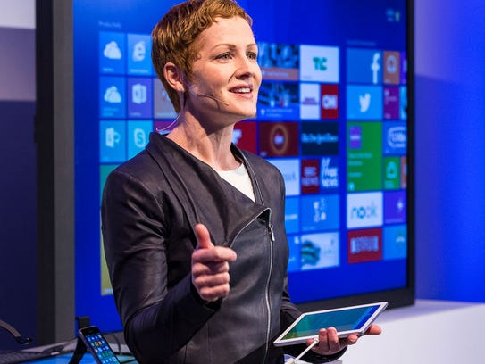 Julia White leads Microsoft's Azure cloud strategy,