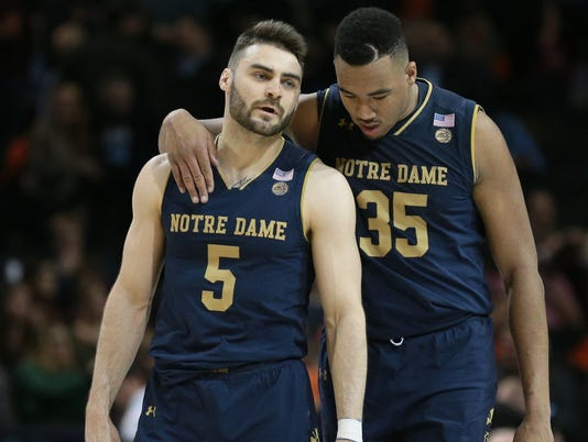 NCAA Basketball: ACC Conference Tournament-Virginia Tech vs Notre Dame