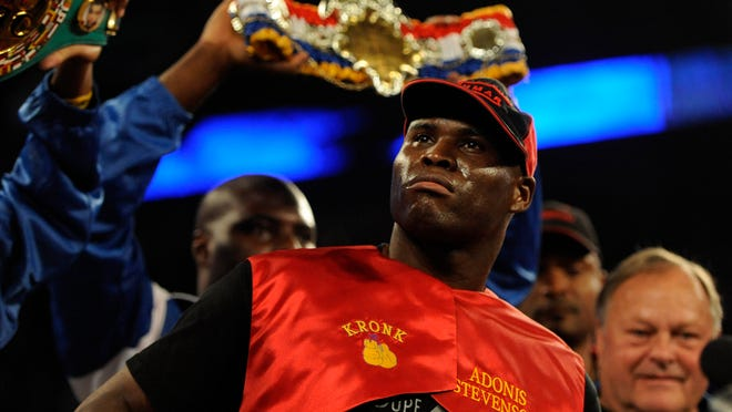 Adonis Stevenson will defend his light heavyweight championship on Spike. (Eric Bolte-USA TODAY Sports)
