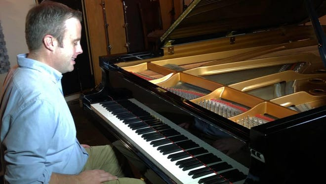 """Pianist, composer and arranger Sheldon Pickering has crafted 14 songs for his new disc """"Along for the Ride."""""""