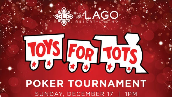 "del Lago Resort & Casino Hosts ""Toys for Tots"" Charity"