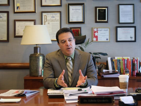Yonkers schools Superintendent Edwin M. Quezada