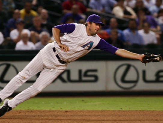 Third baseman Troy Glaus led the team with 37 home runs in 2005.