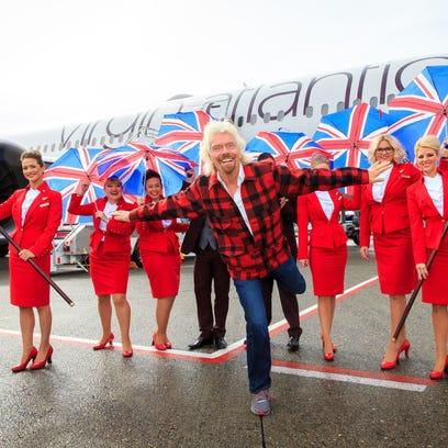 Virgin Atlantic's Richard Branson bashes Alaska Airlines at Seattle launch