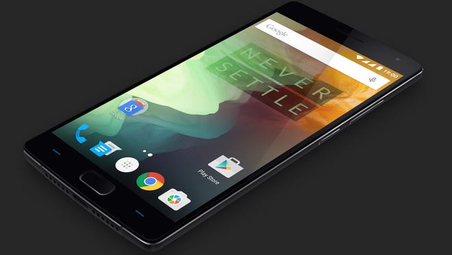 The new OnePlus 2 smartphone from Chinese startup OnePlus
