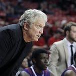 Northwestern State's Mike McConathy saw his team's winning streak end at Stephen F. Austin.