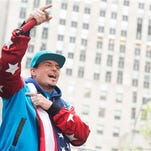 """Vanilla Ice performs on NBC's """"Today"""" show during the """"I Love The 90's"""" morning concert at Rockefeller Plaza on Friday, April 29, 2016, in New York."""