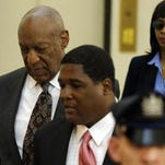 Bill Cosby arrives at the Montgomery County Courthouse for a preliminary hearing Tuesday in Norristown, Pa. Cosby is accused of drugging and molesting a woman at his home in 2004.