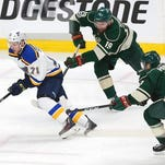 Paajarvi's OT goal gives Blues 4-3 win to oust Wild in 5