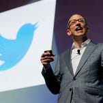Former Google executive Dick Costolo is CEO of Twitter, which has never turned a profit.