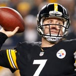 Pittsburgh Steelers quarterback Ben Roethlisberger (7) passes during the first half of an NFL wildcard playoff football game against the Baltimore Ravens in Pittsburgh. The Steelers are ready to get serious about keeping Roethlisberger in black-and-gold for the rest of his career. General manager Kevin Colbert said Tuesday the team has already begun negotiations on a new deal for the two-time Super Bowl champion.