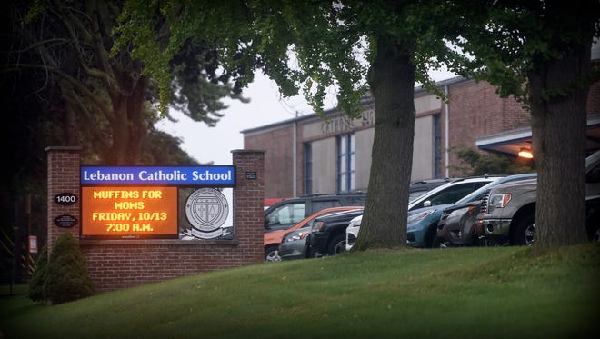 Lebanon Catholic School sent out an alert to parents Thursday morning, Oct. 12 about a possible threat to a student.