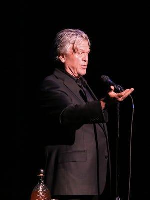 Ron White performs at the Saenger Theatre Thursday night.