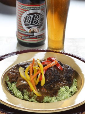 BBC's Bluegrass Soy Sauce braised beef short ribs