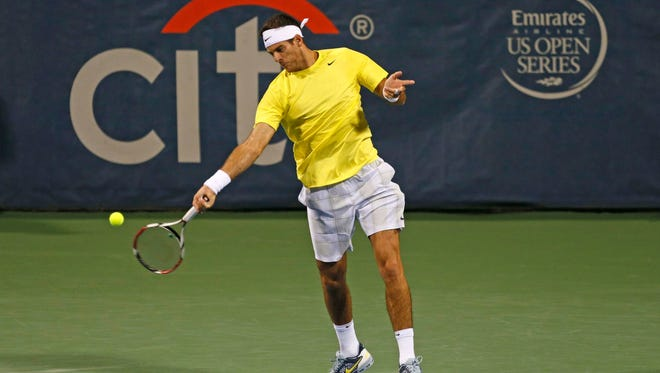 Juan Martin del Potro of Argentina, the 2009 U.S. Open champ, believes he is playing better than evern.