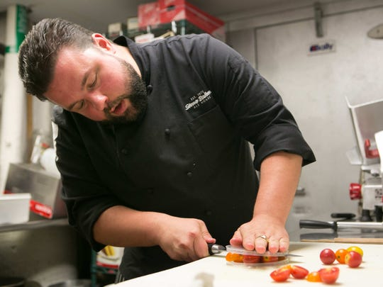 Robbie Jester, executive chef of Stone Balloon Ale