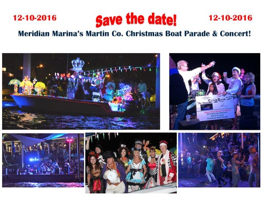 The Stuart Christmas Boat Parade is set for Dec. 10.