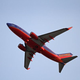 A Southwest Airlines flight leaves Louisville. The commercial carrier is one of six that a new local non-profit group intends to negotiate with on startup subsidies in exchange for establishing regular nonstop flights from Louisville.