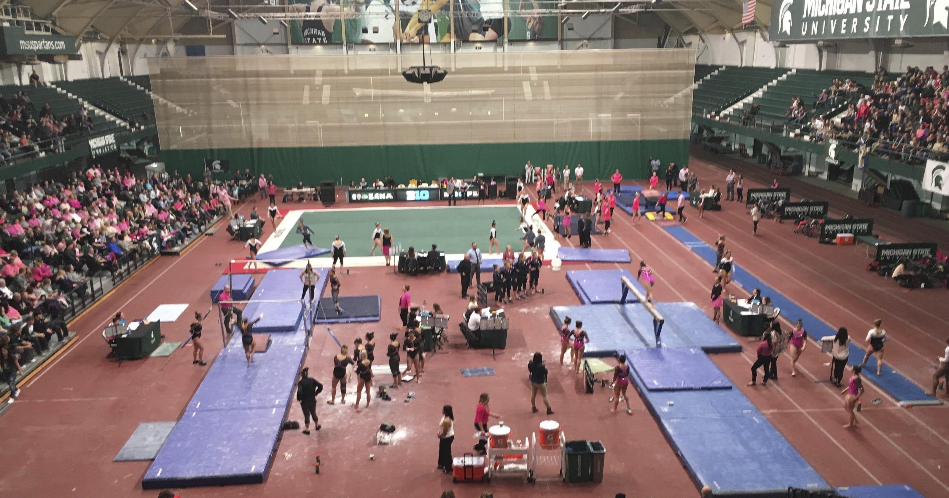 michigan state gymnastics team   move   larry nassar