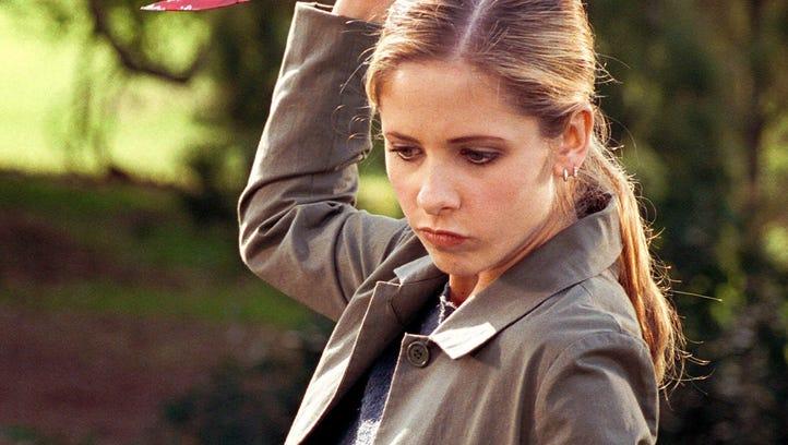 Buffy Summers (Sarah Michelle Gellar) is still slaying in comic books.