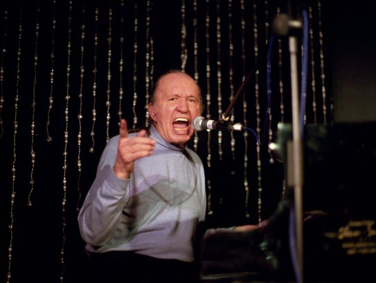 Bob Dorough, seen here performing in London in 2006, was recruited from the New York jazz club scene to write music for 'Schoolhouse Rock.'