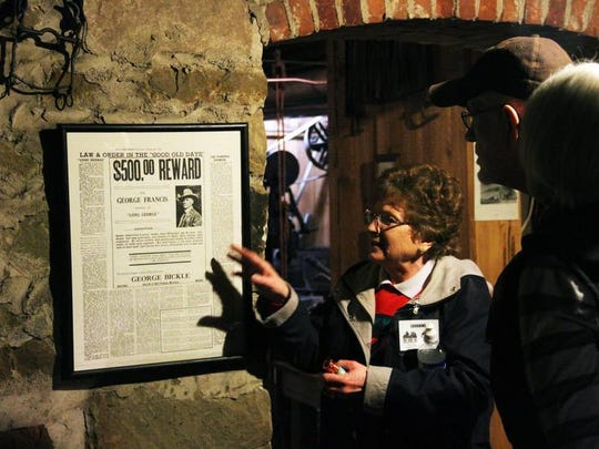 71. Wander through the Sporting Eagle Saloon, opium