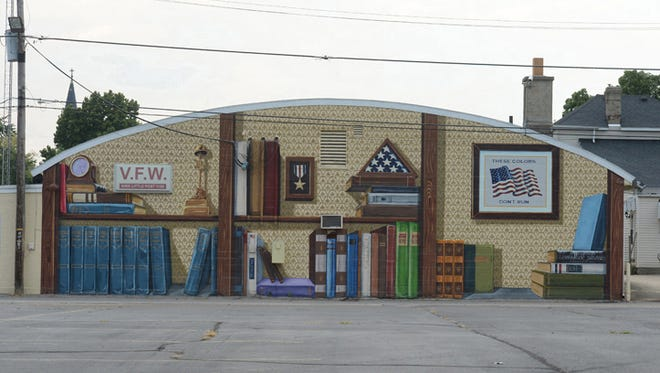 The VFW Post 1108 at 213 S. Eighth St. in Richmond.