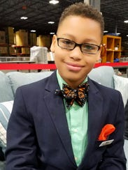 Alex Hart-Upendo, 11, is the creator of Build-A-Bow,