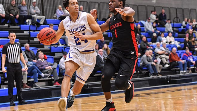 Hamilton senior guard Kena Gilmour, a New Paltz resident, was named to the National Association of Basketball Coaches and D3hoops.com all-district teams. Gilmour averaged 22.3 points, which ranked 27th in Division III.