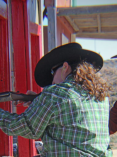 Seven Rivers Regulators monthly cowboy shoot - January
