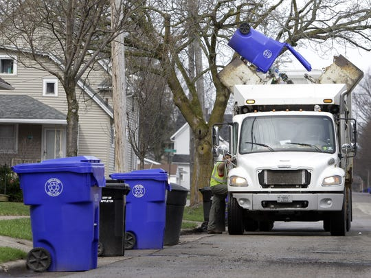 Appleton is considering a 50-cent weekly fee ($26 annually) for residents who use a 30-gallon cart for curbside garbage collection.