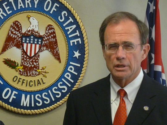 Mississippi Secretary of State Delbert Hosemann said