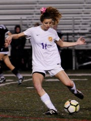 Byrd's Ellis Bryan scored the only goal in the Lady Jackets' 1-0 victory against Loyola Friday night at Messmer Stadium.