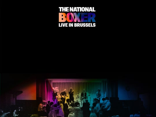 """""""Boxer Live in Brussels"""" by the National will be available on Record Store Day Saturday, April 21, 2018."""