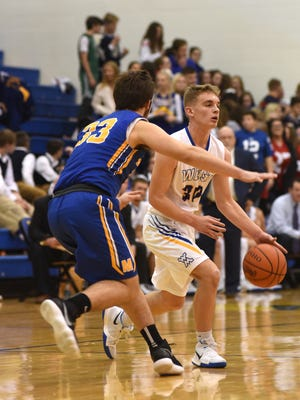 West Muskingum's Jaren Garber moves with the ball against Maysville. Garber is one of two players returning for the Tornadoes, who will rely on juniors and sophomores to get the program headed back in the right direction.